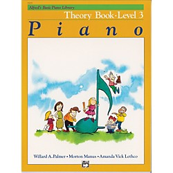 Alfred Alfred's Basic Piano Course Theory Book 3 (00-2123)