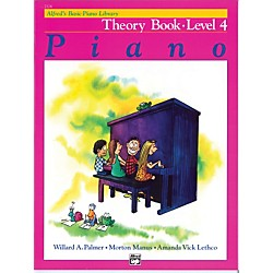 Alfred Alfred's Basic Piano Course Theory Book 4 (00-2124)