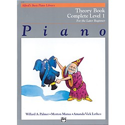 Alfred Alfred's Basic Piano Course Theory Book Complete 1 (1A/1B) (00-2235)