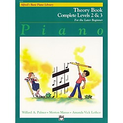 Alfred Alfred's Basic Piano Course Theory Book Complete 2 & 3 (00-6235)