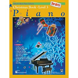 Alfred Alfred's Basic Piano Course Top Hits! Christmas Book 3 (00-16938)