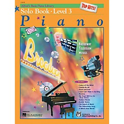 Alfred Alfred's Basic Piano Course Top Hits! Solo Book 3 (00-16498)