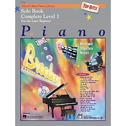 Alfred Alfred's Basic Piano Course Top Hits! Solo Book Complete 1 (1A/1B) (00-17199)