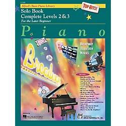 Alfred Alfred's Basic Piano Course Top Hits! Solo Book Complete 2 & 3 (00-17200)