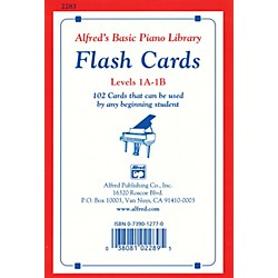 Alfred Alfred's Basic Piano Library Flash Cards Levels 1A & 1B (00-2283)