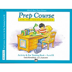 Alfred Alfred's Basic Piano Prep Course Activity & Ear Training Book B (00-3092)
