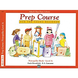 Alfred Alfred's Basic Piano Prep Course Notespeller Book A (00-6483)