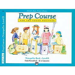 Alfred Alfred's Basic Piano Prep Course Notespeller Book B (00-6484)