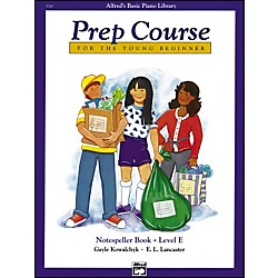 Alfred Alfred's Basic Piano Prep Course Notespeller Book E (00-5745)