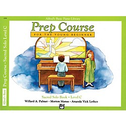Alfred Alfred's Basic Piano Prep Course Sacred Solo Book C (00-6196)