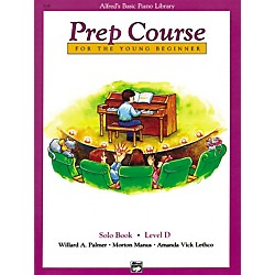 Alfred Alfred's Basic Piano Prep Course Solo Book D (00-3138)