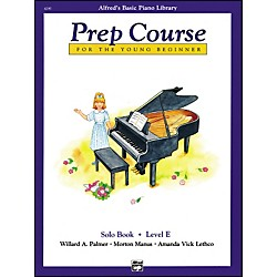 Alfred Alfred's Basic Piano Prep Course Solo Book E (00-6295)