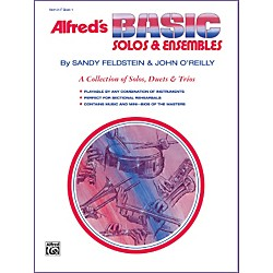 Alfred Alfred's Basic Solos and Ensembles Book 1 Cornet Baritone T.C. (00-1668)
