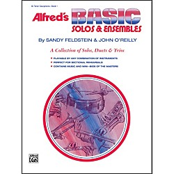 Alfred Alfred's Basic Solos and Ensembles Book 1 Tenor Sax (00-1667)