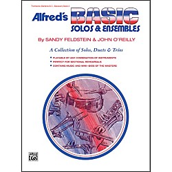 Alfred Alfred's Basic Solos and Ensembles Book 2 Trombone Baritone B.C. Bassoon (00-1808)