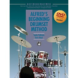Alfred Alfred's Beginning Drumset Method Book & DVD in Sleeve (00-23201)