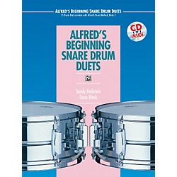 Alfred Alfred's Beginning Snare Drum Duets Book & CD (00-16930)