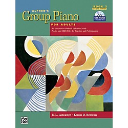 Alfred Alfred's Group Piano for Adults Student Book 2 (2nd Edition) Book 2 with CD-ROM (00-28450)