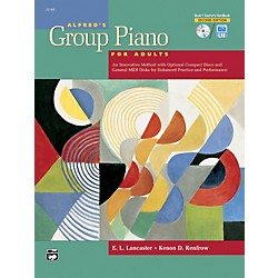 Alfred Alfred's Group Piano for Adults Teacher's Handbook 1 (2nd Edition) Book 1 (00-22164)