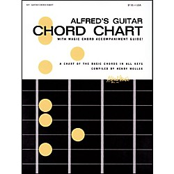 Alfred Alfred's Guitar Chord Chart (00-421)