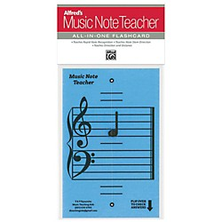 Alfred Alfred's Music Note Teacher All-In-One Flashcard Blue (99-MNT003)