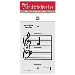 Alfred Alfred's Music Note Teacher All-In-One Flashcard White (99-MNT001)