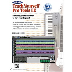 Alfred Alfred's Teach Yourself Pro Tools LE Book & DVD (00-34361)