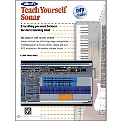 Alfred Alfred's Teach Yourself Sonar Book & DVD (00-34364)