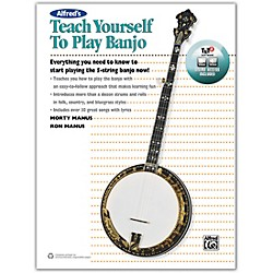 Alfred Alfred's Teach Yourself to Play Banjo Book, CD & DVD (00-42730)