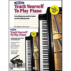 Alfred Alfred's Teach Yourself to Play Piano (Book/DVD) (00-22623)