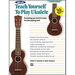 Alfred Alfred's Teach Yourself to Play Ukulele C-Tuning Edition Book & CD (00-37133)