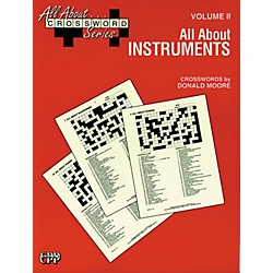 Alfred All About ... Crossword Series, Vol. II All About Instruments Music Game Book (00-SVB00107)