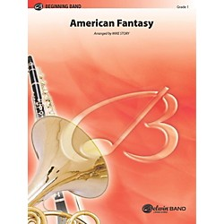"Alfred American Fantasy (based on ""America"" and ""America, the Beautiful"") Concert Band Grade 1 Set (00-BD9575)"