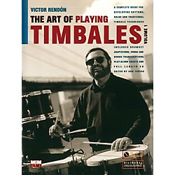 Alfred Art Of Playing Timbales 1 - Victor Rendon (Book/CD) (83-MIM003)