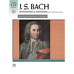 Alfred Bach Inventions & Sinfonias (Two- & Three-Part Inventions) Intermediate/Early Advanced Piano (00-606C)
