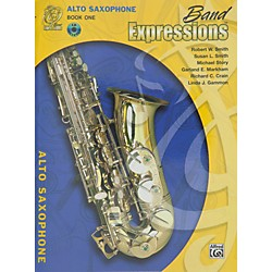 Alfred Band Expressions Book One Student Edition Alto Saxophone Book & CD (00-MCB1008CDX)
