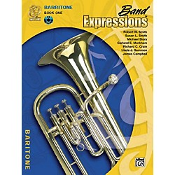 Alfred Band Expressions Book One Student Edition Baritone B.C. Book & CD (00-MCB1014CDX)