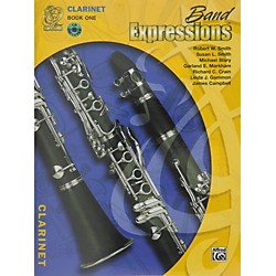 Alfred Band Expressions Book One Student Edition Clarinet Book & CD (00-MCB1004CDX)