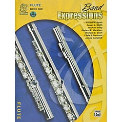Alfred Band Expressions Book One Student Edition Flute Book & CD (00-MCB1002CDX)