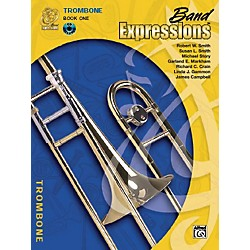 Alfred Band Expressions Book One Student Edition Trombone Book & CD (00-MCB1013CDX)