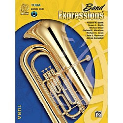 Alfred Band Expressions Book One Student Edition Tuba Book & CD (00-MCB1015CDX)