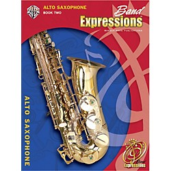 Alfred Band Expressions Book Two Student Edition Alto Saxophone Book & CD (00-EMCB2008CD)