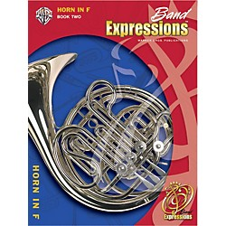 Alfred Band Expressions Book Two Student Edition Horn in F Book & CD (00-EMCB2012CD)