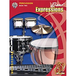 Alfred Band Expressions Book Two Student Edition Percussion Book & CD (00-EMCB2016CD)
