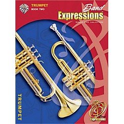 Alfred Band Expressions Book Two Student Edition Trumpet Book & CD (00-EMCB2011CD)