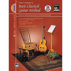 Alfred Basic Classical Guitar Method Book 1 with DVD (00-22613)