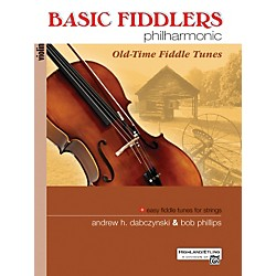 Alfred Basic Fiddlers Philharmonic Old-Time Fiddle Tunes Violin Book (00-28317)