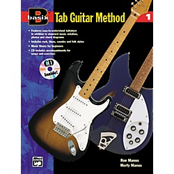 Alfred Basix TAB Guitar Method #1 CD (00-14910)