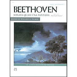 Alfred Beethoven Moonlight Sonata Op. 27 No. 2 (1st Movement) Late Intermediate Piano (00-2148)