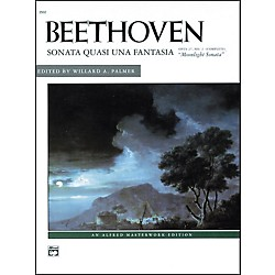 Alfred Beethoven Moonlight Sonata Op. 27 No. 2 (Complete) Late Intermediate/Early Advanced Piano Solo (00-2502)